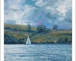 Salcombe Estuary by John Brenton